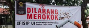 University of Indonesia has become a 100% smoke-free campus