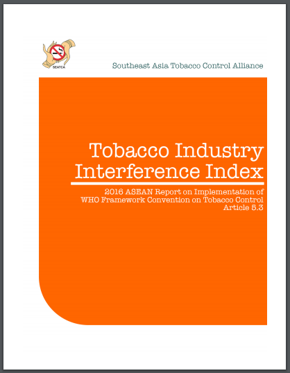 Tobacco Industry Interference Index