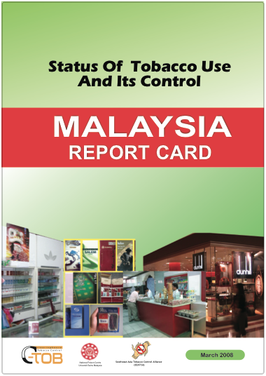 Mal report card cover