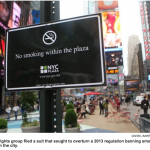 Ban on smoking in NYC parks upheld in Court of Appeals