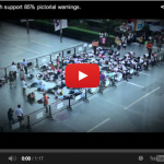 Thai youth supports 85% Pictorial health warnings