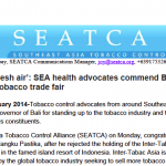 'A breath of fresh air': SEA health advocates commend Bali Governor for rejecting tobacco trade fair