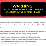 Johns Hopkins' Tobacco Pack Surveillance System