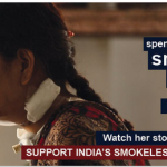 Help support Sunita:  Join '#Sunita Against Smokeless Project'