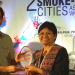 SEATCA 'Smoke-free City' Award given to Balanga City