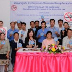 Lao PDR:  Smoke-free Laos Workshop:Strengthening the Enforcement of the Smoke-free Law