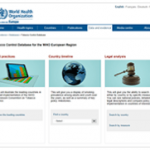 The Tobacco Control Database for the WHO European Region