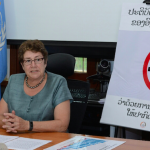Face to face with the WHO Representative to Lao PDR