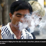 How Beijing residents are outing smokers