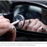 Motorists alerted over upcoming ban on smoking in cars to prevent surge in fines