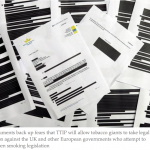 TTIP controversy: The European Commission and Big Tobacco accused of cover-up after heavily redacted documents released