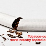 Tobacco-control advocates want industry booted out of policy body