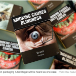 Tobacco giants and Government in plain packaging showdown