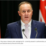 Tobacco plain packaging likely to be law by end of year – John Key
