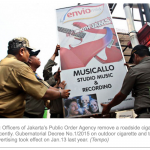 Cigarette ad ban gets irate manufacturers in a puff