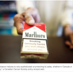 Global: Big Tobacco sought to enhance own image by fighting AIDS, study says