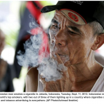 Indonesia on track to world's highest smoking rates