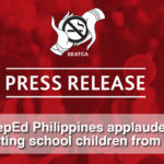 DepEd Philippines applauded in ​p​rotecting school children from tobacco