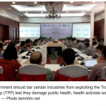Vietnam: Is TPP a public health threat?