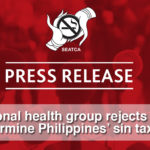 Regional health group rejects move to undermine Philippines' sin tax reform