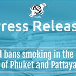 Thailand bans smoking in the beaches of Phuket and Pattaya