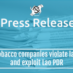 Tobacco companies violate law and exploit Lao PDR