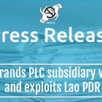 Imperial Brands PLC subsidiary violates law and exploits Lao PDR