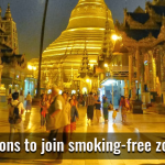 Myanmar: Three more regions to join smoking-free zone campaign