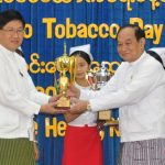 Smoke-free universities awarded in Myanmar