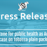 Global milestone for public health as Australia wins WTO case on tobacco plain packaging