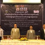 Smoke-free workshop given to Siem Reap tour guides