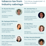 Protecting tobacco tax from industry sabotage webinar