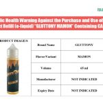 Philippines: FDA Warns Public Against Vape Juice Containing 'Mamon' or Illegal Drugs
