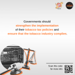 Counteractions Against Tobacco Industry Interference in Tax Policies